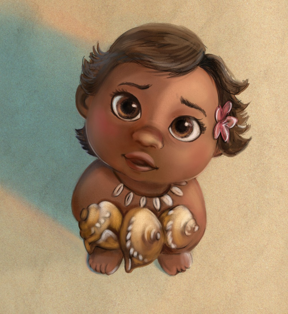 Disney Vaiana leontineillustrator fanart