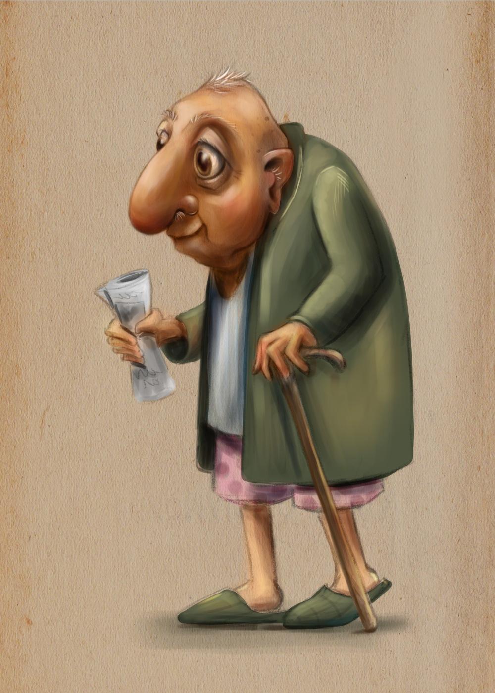 leontine old man