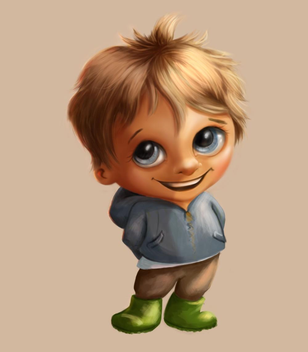 karakter jongetje yannick
