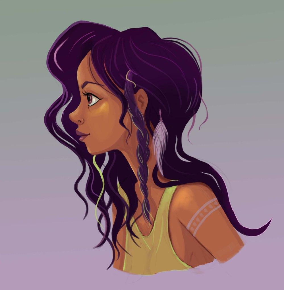 portret meisje 20 juni