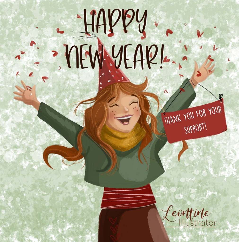 leontine Gaasenbeek wenst je een gelukkig 2021!